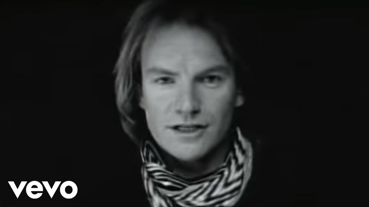 Sting - Englishman In New York (Official Music Video)