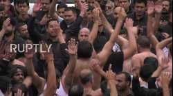 UK: Shia Muslims beat chests in Manchester's self-flagellation procession