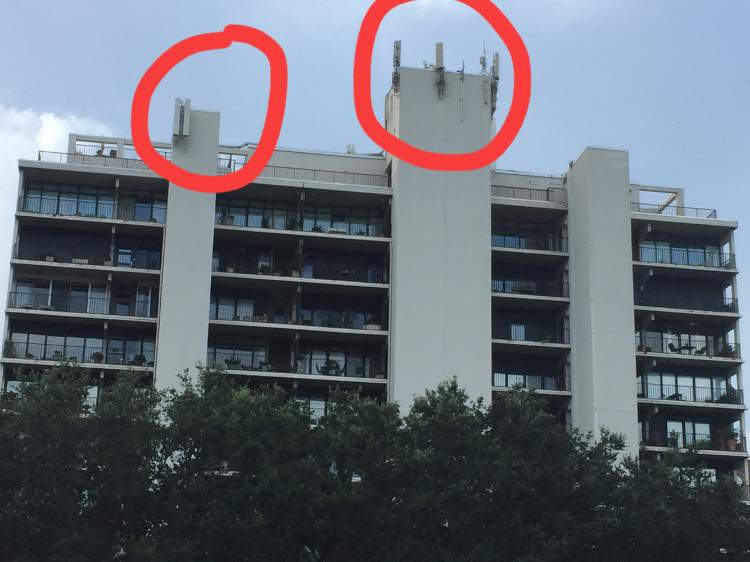 Extremely powerful, ugly wireless antennas don't belong near where people live
