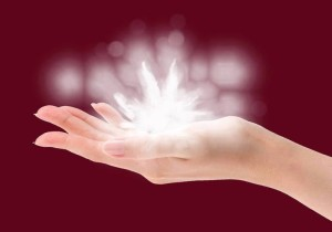 peace orchide healing hand