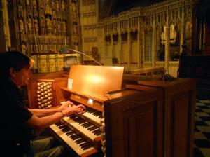 JS Bach Orgel Concert in New Castle by Stan Rams