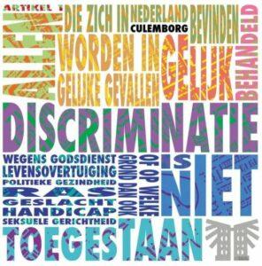 discriminatie niet toegestaan