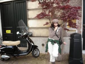 Monita Kaddour Amsterdam Celeb  Glossy Reporter Party 2017