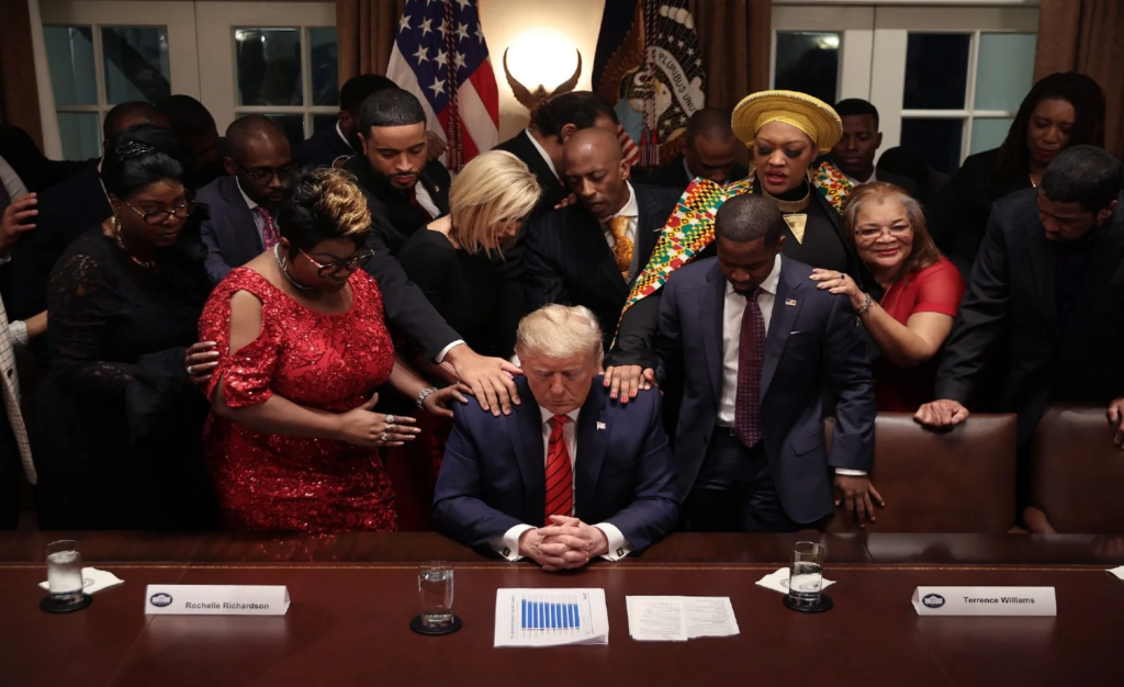 Donald Trump ISSUES ALL places of worship OPEN